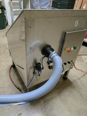 Dedusting Station HEPA Filtration Unit